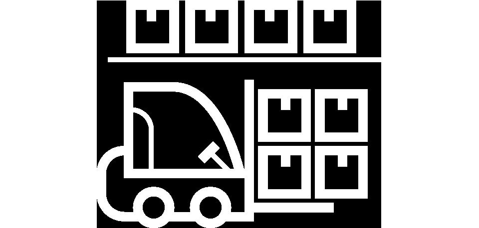 Ikon: Lagerhållning och distribution